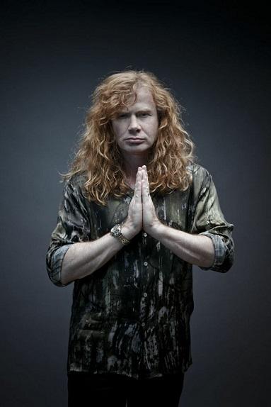 Dame Mustaine, actitud zen