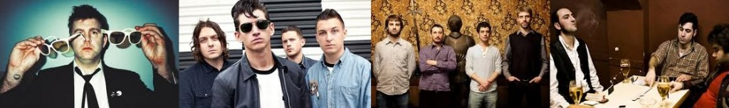 LCD SOUNDSYSTEM - ARCTIC MONKEYS - MANEL - TARANTULA