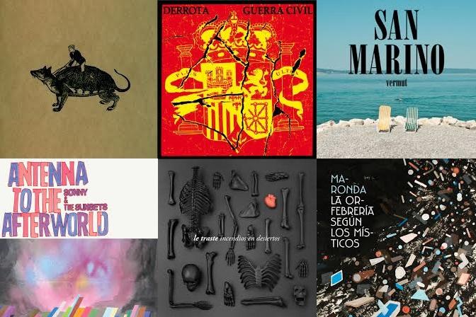 6 discos de 2013